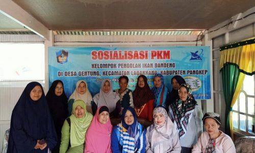 Dosen Fakultas Perikanan dan Ilmu Kelautan UMI Bekali Pelatihan Pembuatan Bandeng Presto
