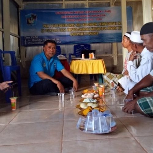 LPkM Melalui Dosen FPIK dan FS UMI Memberi Penyuluhan dan Pelatihan Kepada Petambak Ikan Nila di Kab. Pangkep