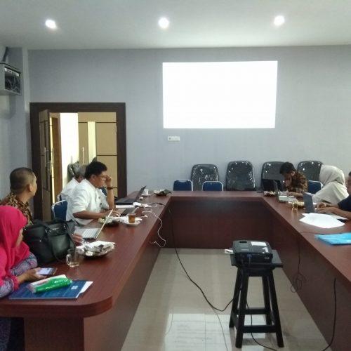 Rapat Harian Fakultas Perikanan dan Ilmu Kelautan UMI