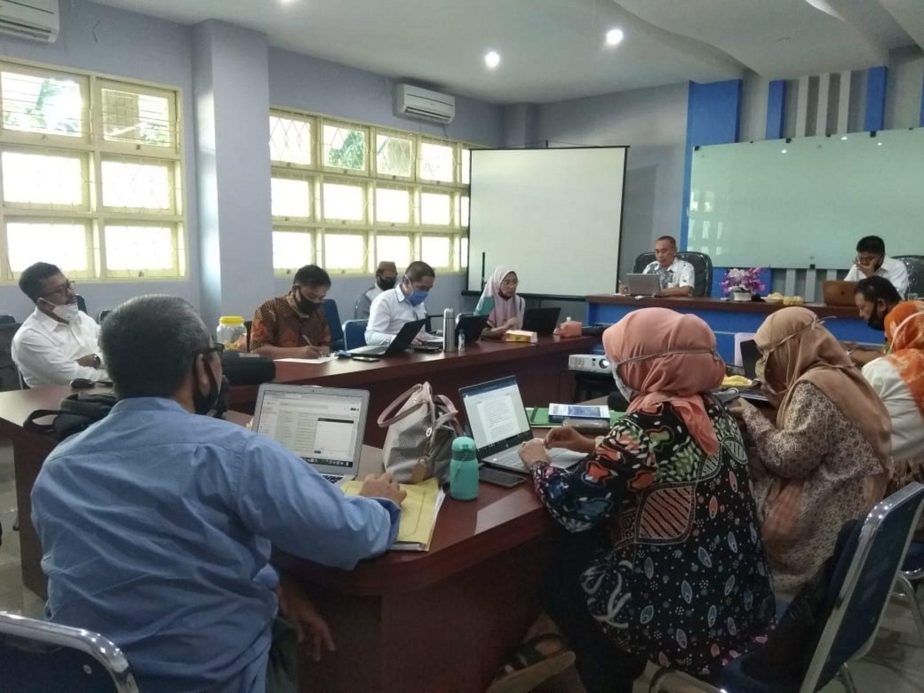 Rapat Rutin Rabuan 03 Juni 2020 Fakultas Perikanan dan Ilmu Kelautan UMI