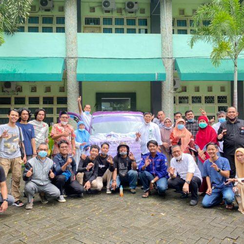 TIM Relawan Fakultas Perikanan dan Ilmu Kelautn UMI Menuju ke Provinsi SulBar